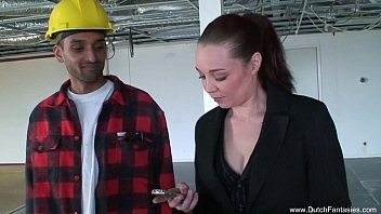 Itouch free porn sites Dutch 3some on the construction site