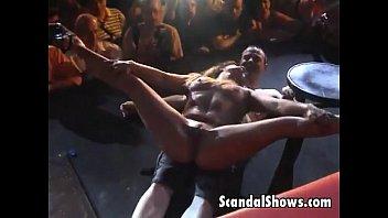 Guys strip down - Sexy striper slut pleases a lucky guy