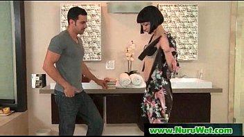 Slippery Massage With Nuru Gel Sex Video 01 video