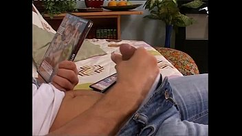 Young boy caugh with a porn dvd by a horny milf porn thumbnail