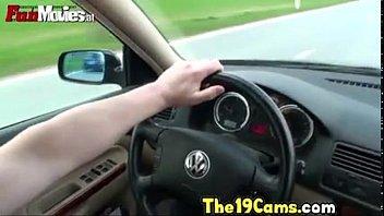 Fun Movies Sexy Amateur Teen in the Car, Porn f2: