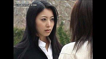 Asian Teen Lesbian Schoolgirls Duo Action
