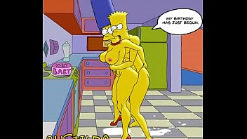 Simpsons characters having sex Bart simpson fucks his mom marge