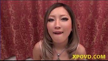 Asian Japanese Cocksucker Gets Cumshot