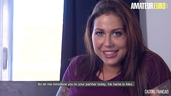 AMATEUREURO - (Heidy Van Horny, Alex Duca ) Big Tits Newbie Babe Steamy Audition Fuck With Horny Stud - CASTING FRANCAIS