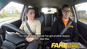 Sex drive after pregnancy - Fake driving school little english teen gets fucked after her lesson