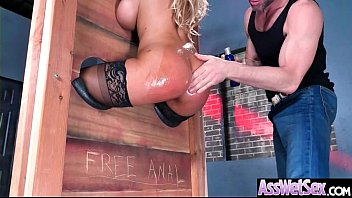 Bridgette B Sup erb Oiled Girl With Round Big  With Round Big Ass Get Analy Nai