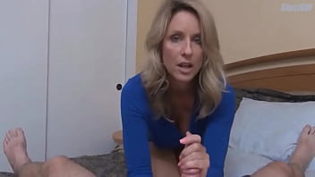 Mature Milf teaches her stepson