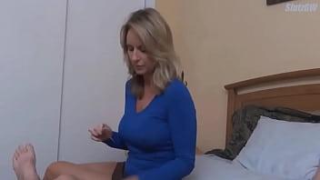 Mature Milf Teaches Her Stepson