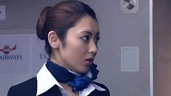 flight attendant porno izle