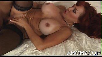 Hot mom receives pleasure of cock thumbnail