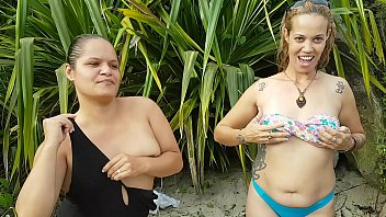 Me and my best friend went to spend the weekend at the beach and we got caught !!! Paty Butt - Honey Fairy