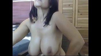 Super hot big boobs milf fingering pussy