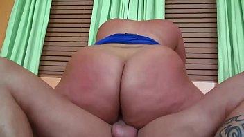 Mature women down Chunky milf slides her big ass up down on a hard dick