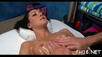 Aroused brunette young Sabrina Banks performs donga licking session