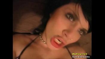 Pierced Nude Teenager Talks Dirty On Bedroom Webcam
