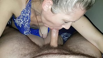 hanysy hot 43 year old milf is doing a blow job cum in mouth - 69VClub.Com