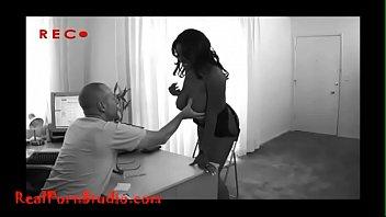 Realpornstudio.com Casting big tit chubby black girl creampie