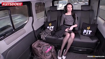 LETSDOEIT - Skinny Russian Babe Gets Drilled In Czech Taxi (Liz Heaven)