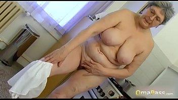 Sex crazy granny Omapass collection of horny mature ladies sex