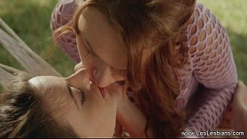 Shared lesbian videos - Lesbians share a secret kiss