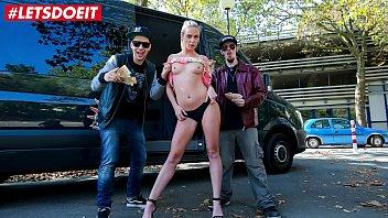 LETSDOEIT - German Babe Vinna Reed Having Hot Sex In The Van