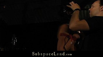 Obtinate slutt breath played and pussy rubbed in bondage