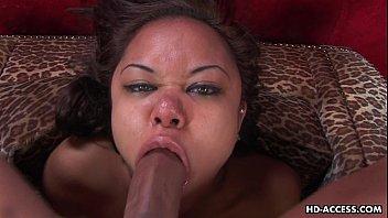 Super slutty Annie sucking and deep throating the dick pornhub video