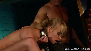 Bondage BDSM submissive girl fucking