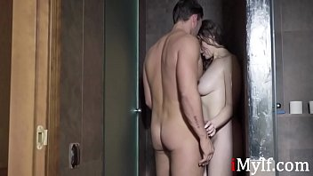 Cheating MILF Fucks Her Lover In The Shower- Sofia Curly