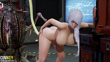Big Boobs Doctor Was Impregnated By Monsters Tentacles   3D Porn Hentai   Fallen Doll