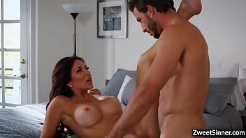 Busty and gorgeous MILF Jaclyn Taylor enjoyed a wild dick ride with her horny stepson Lucas Frost.