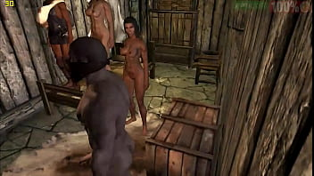 Skyrim Prostitution orgy Threesome
