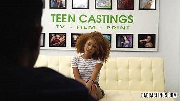 18yo Kendall Woods Fucks on Casting
