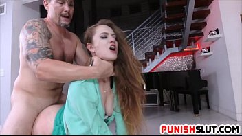 Samantha Hayes bound and fucked strong in her pussy