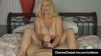 Cock Stroking Cougar Charlee Chase Gives You A Handjob!