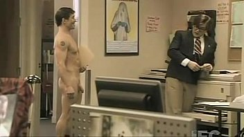 A Gay Business Man Strips Neil Napier with his eyes.....!