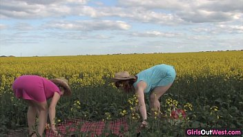 Australian sex papers Natural lesbian girls on a canola field