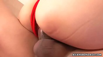 Momo Imai likes bondage and hardcore fuck during a threesome