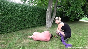 Mein Hund - Naughty Dog for Lady whipping female-domination