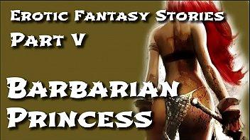 Barbarian hardcore - Erotic fantasy stories 5: barbarian princess