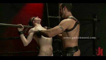 Teen gay sex slave bondage fetish sex