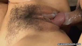 Big titted Rum is moaning while getting a massive creampie