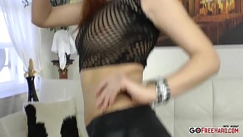 Beautiful Redhead Gets Bent Over For Dick In The Ass