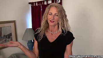 Hard nipples pantyhose American milf lauren demille gives her tanned body a treat
