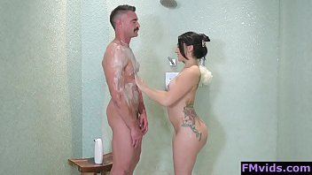 Mandy Muse with old guy