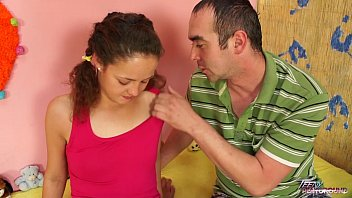 Teenyplayground Super skinny curly hair teenager fucked under the skirt hard