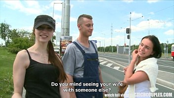 Visuals for enhancing for older couple sex - Czech teen convinced for outdoor public sex