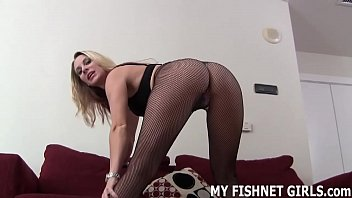 Rub your hard cock against my stockings JOI