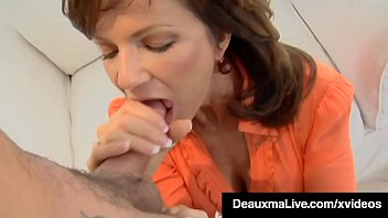 Mature cum mouth Sophisticated mommy deauxma ass fucked by boytoy